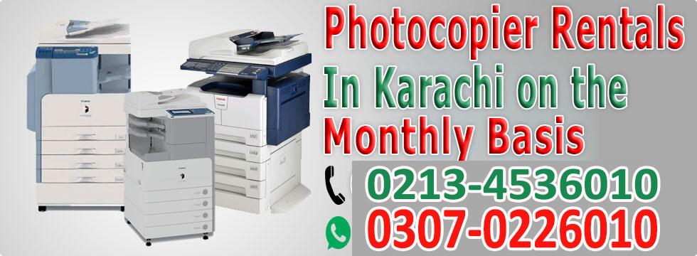 Copier Rentals in Karachi