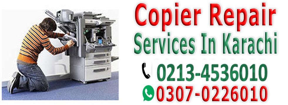 Photocopier Machine Repair Services in Karachi