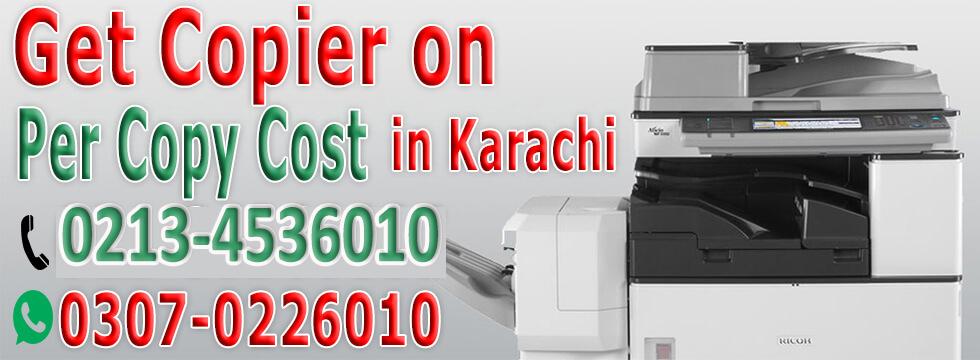 Photocopy machine on rent in Karachi